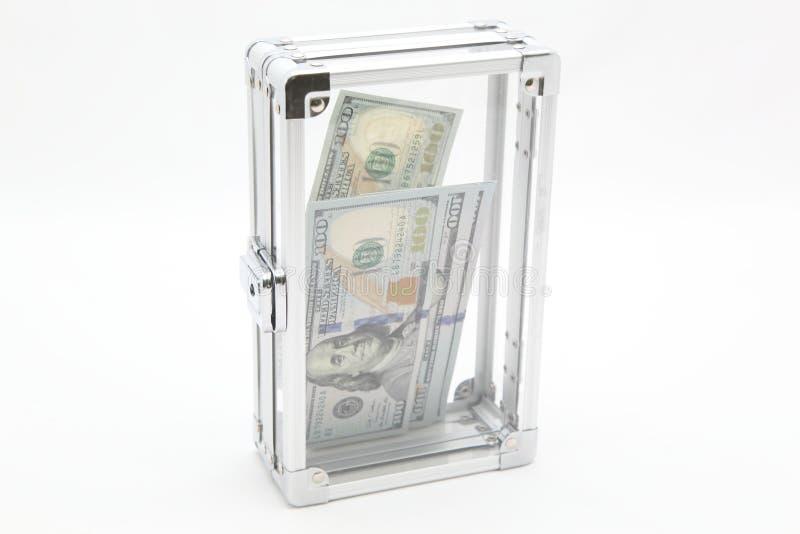 Case with money stock image