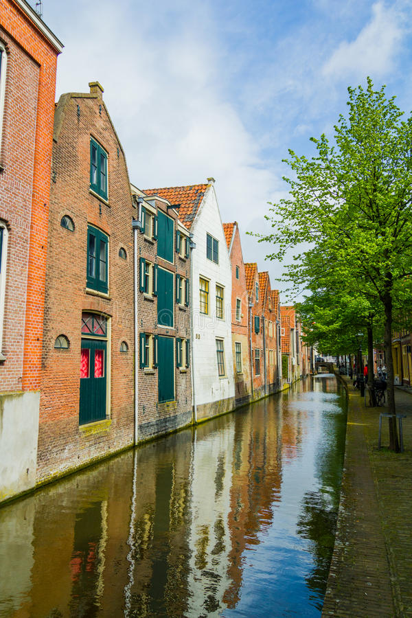 Case olandesi tipiche fotografia stock