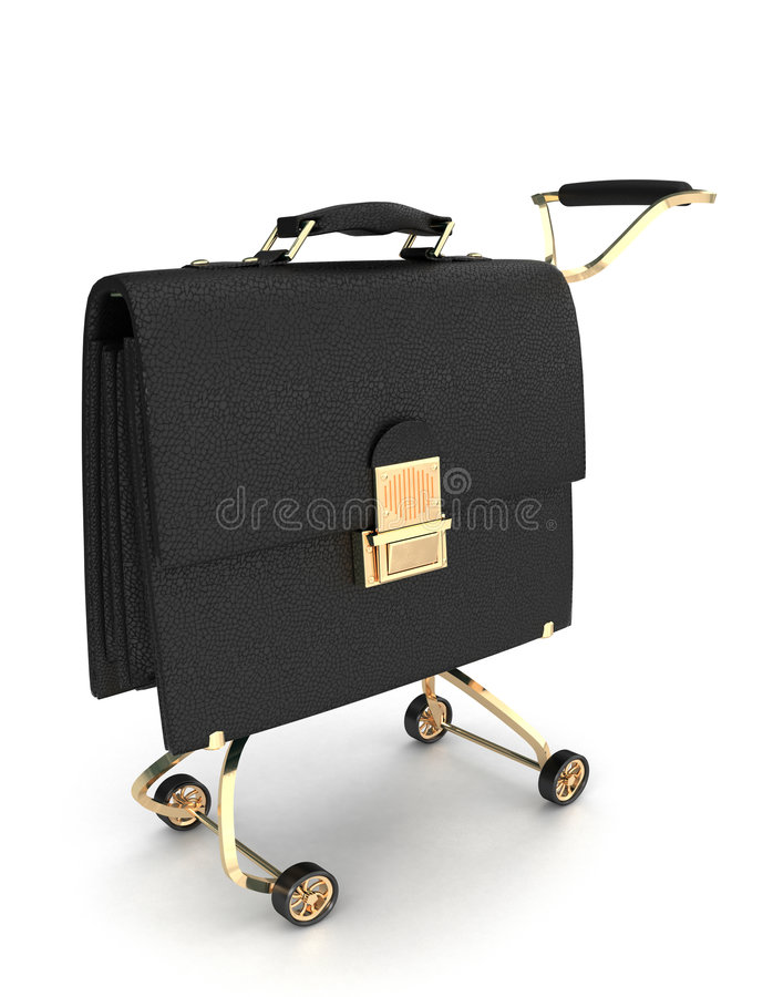 Free Case On Wheels Royalty Free Stock Images - 3656889