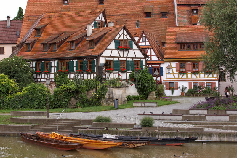 Case in Rottenburg fotografia stock