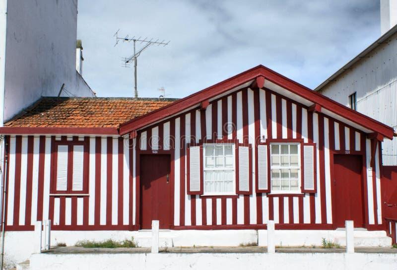 Case tipiche del NOVA della Costa immagini stock libere da diritti