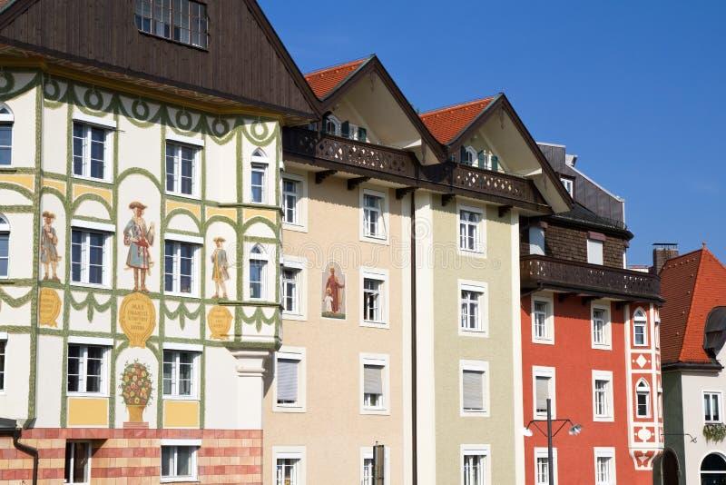 Case tradizionali in baviera del sud germania immagine for Case tradizionali