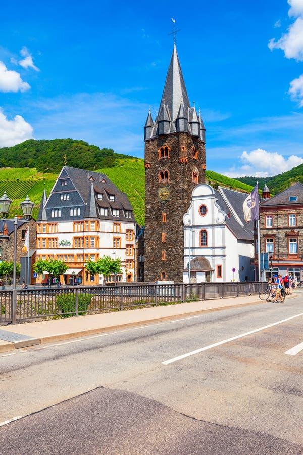 Case tradizionali in Bernkastel Kues immagini stock