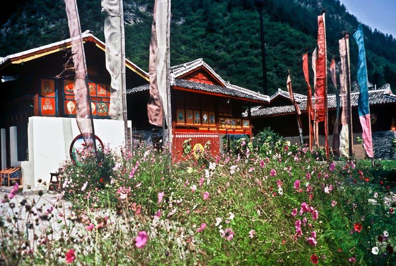 Case tradizionali, Cina fotografie stock