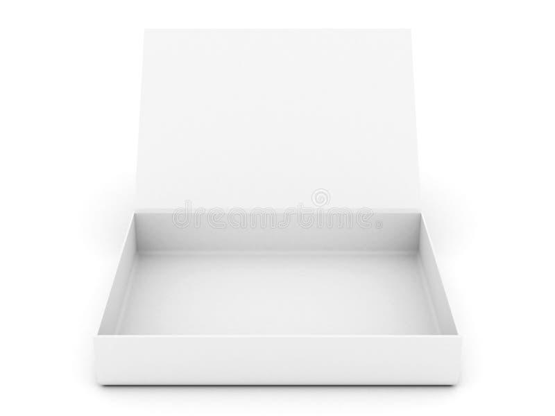 Casella aperta bianca royalty illustrazione gratis