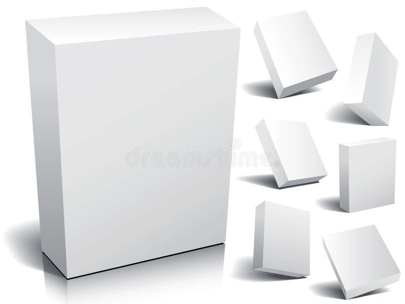 Casella in bianco illustrazione di stock