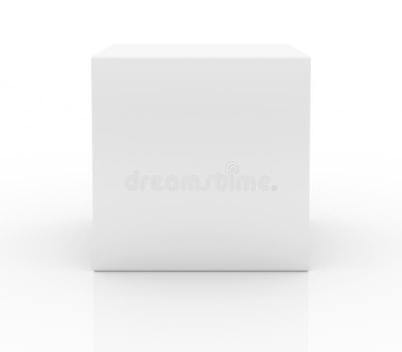 Casella in bianco illustrazione vettoriale