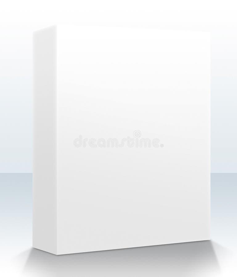 Casella in bianco del prodotto illustrazione di stock