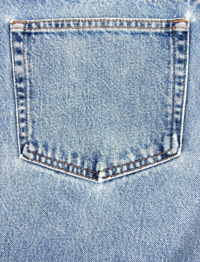 Casella dei jeans immagine stock
