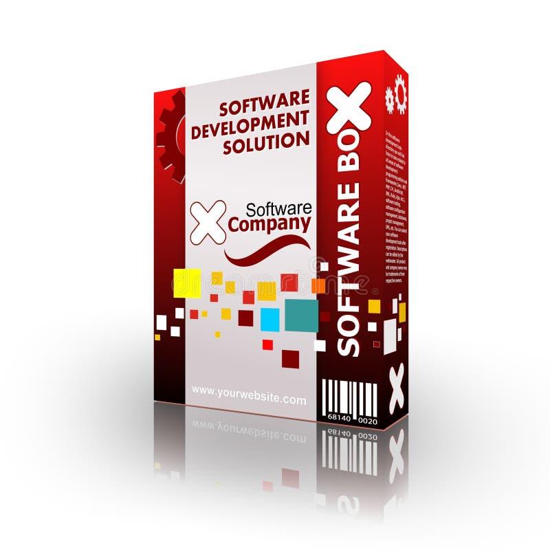 Casella dell'azienda di Software illustrazione vettoriale