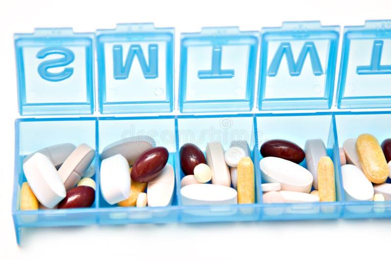 Casella della pillola immagine stock