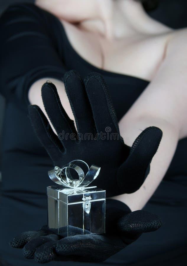 Casella di Jewelery immagini stock libere da diritti