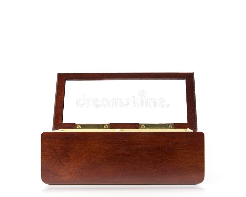 Casella di legno fotografie stock libere da diritti