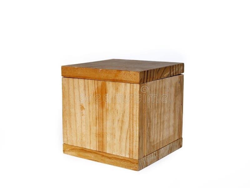Casella di legno pesante fotografie stock libere da diritti