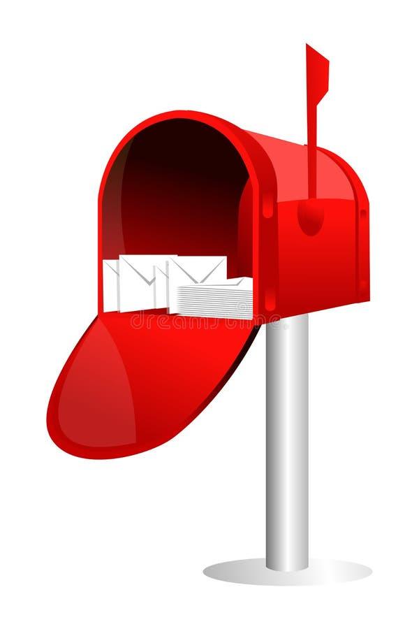 Casella di lettera illustrazione vettoriale
