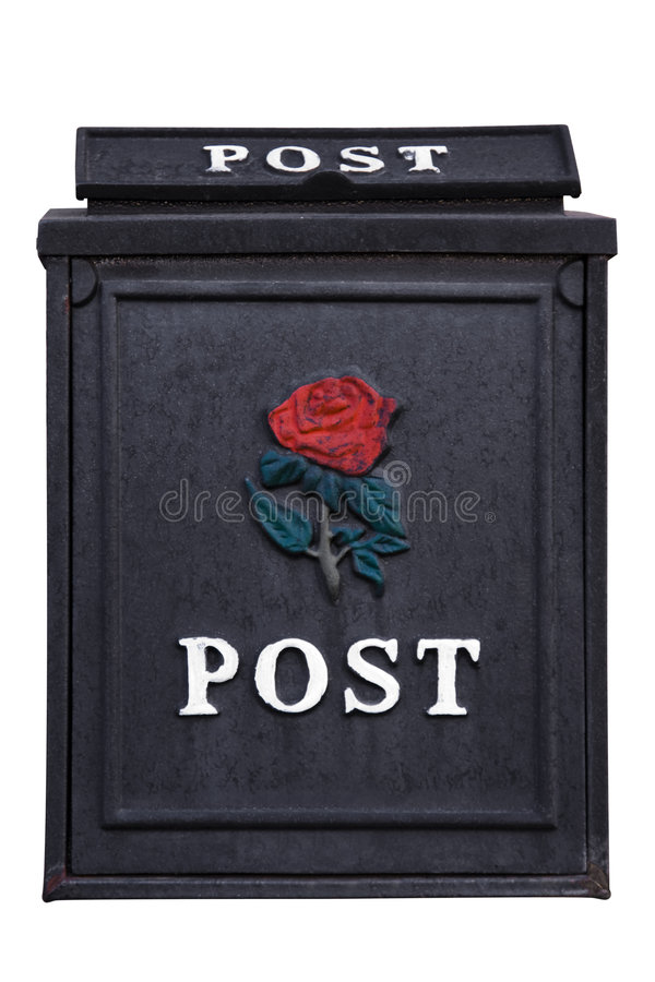 Casella di lettera immagini stock libere da diritti