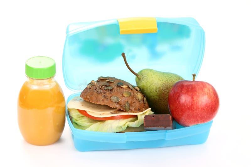 Casella di pranzo immagine stock