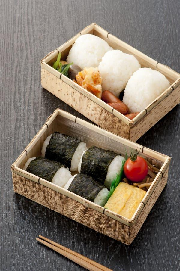 Casella di pranzo giapponese immagine stock