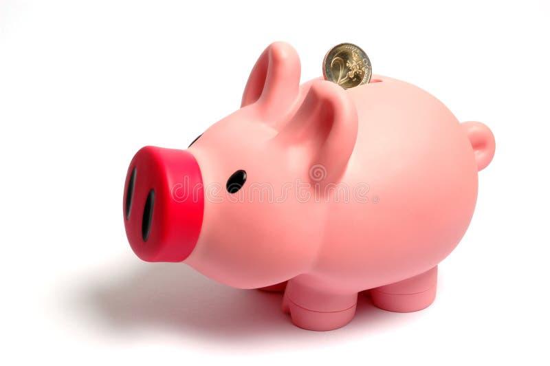 Casella Piggy fotografie stock libere da diritti