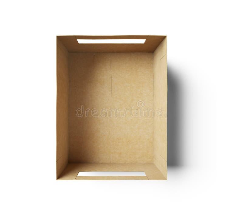 Casella vuota immagine stock libera da diritti