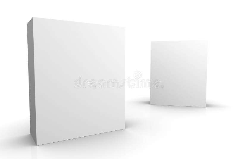 Caselle in bianco royalty illustrazione gratis