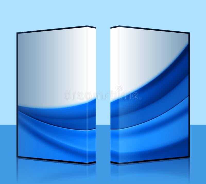 Caselle del software royalty illustrazione gratis