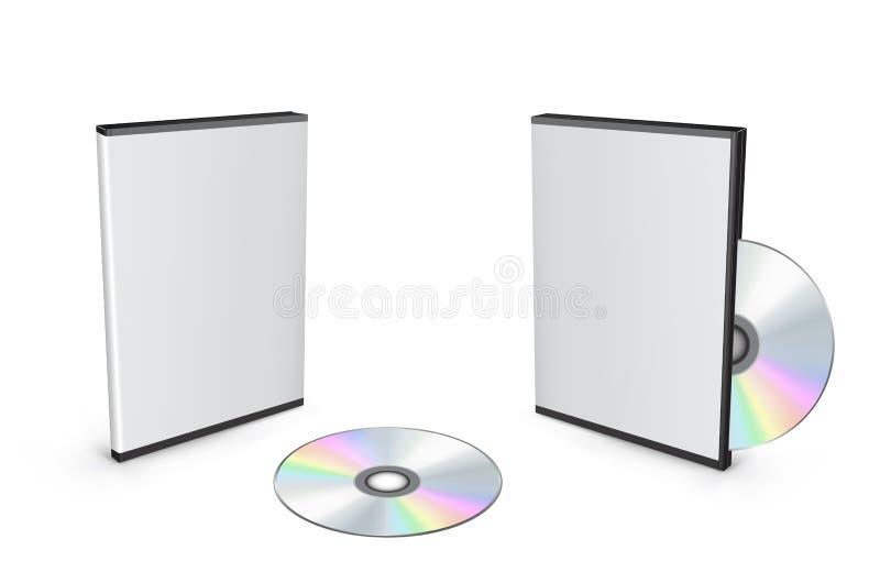 Caselle di DVD illustrazione vettoriale