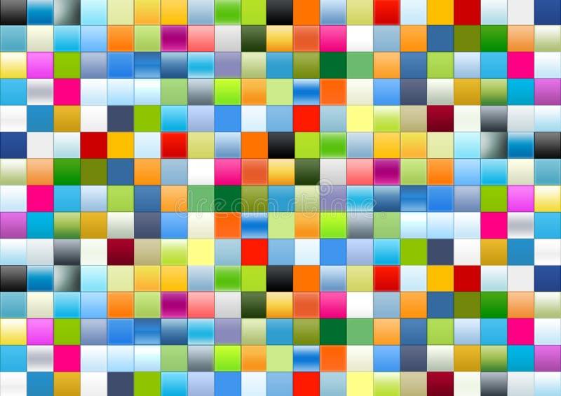 Caselle di gradiente illustrazione vettoriale