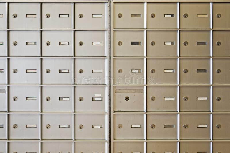 Caselle di lettera fotografia stock
