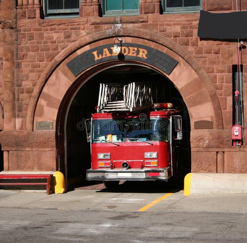 Caserma dei pompieri fotografie stock libere da diritti