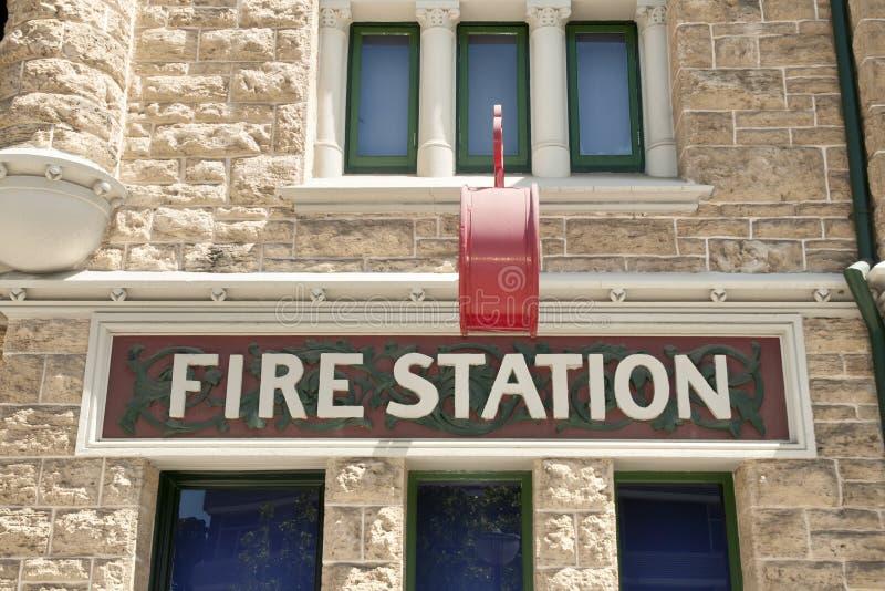 Caserma dei pompieri - Perth - Australia immagini stock libere da diritti