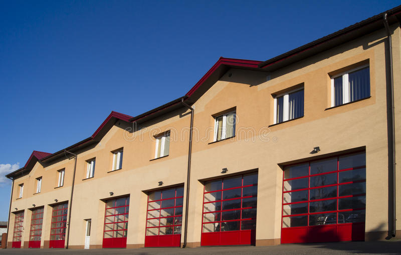 Caserne de pompiers images libres de droits