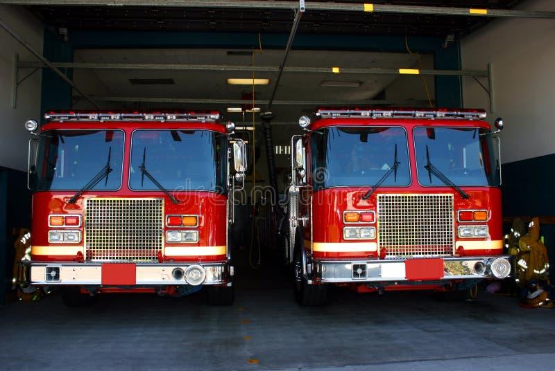 Caserne de pompiers photos stock