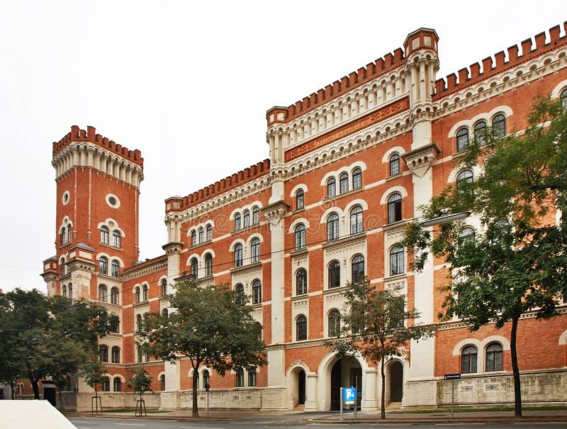 Casernes de Rossauer à Vienne l'autriche photographie stock libre de droits