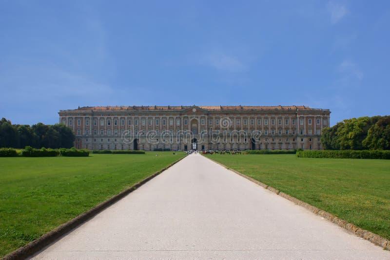Caserta Royal Palace foto de archivo