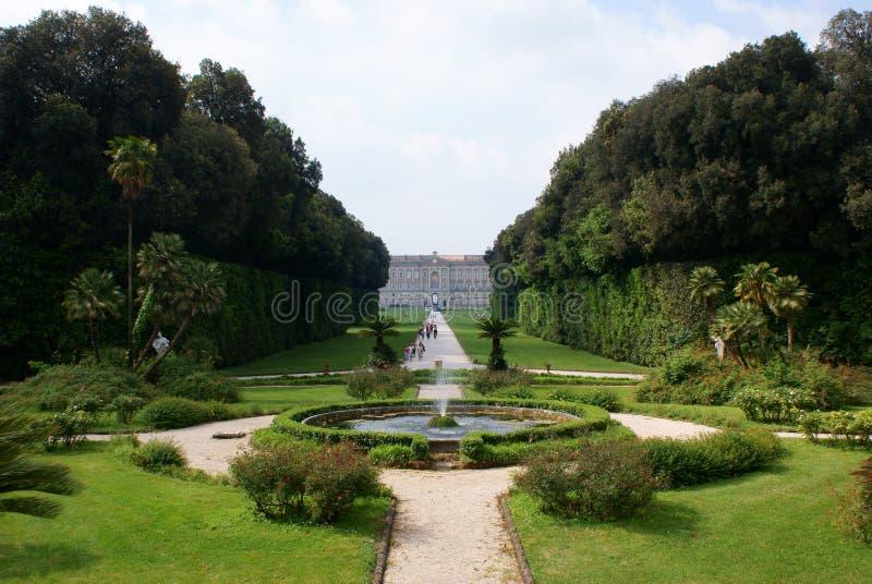 Caserta Royal Palace stockbild