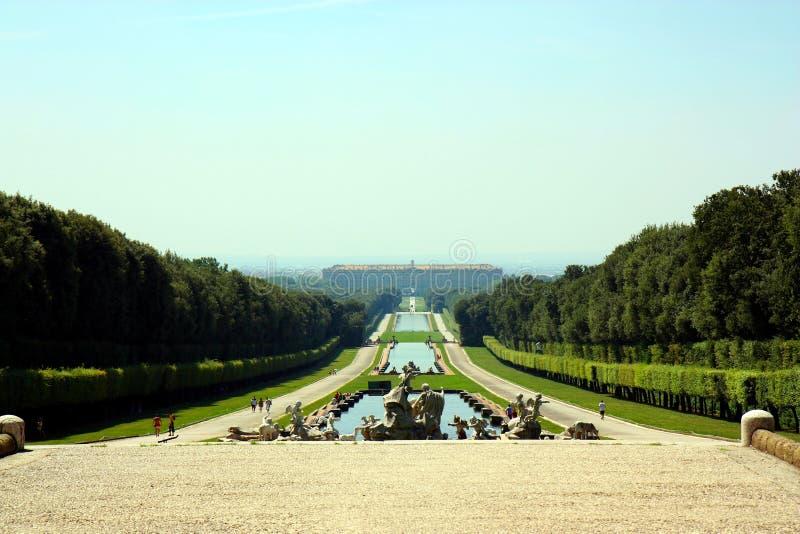 Caserta Royal Palace imagen de archivo