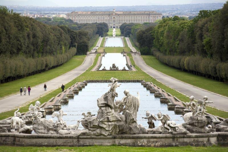 Caserta Royal Palace royalty free stock photography