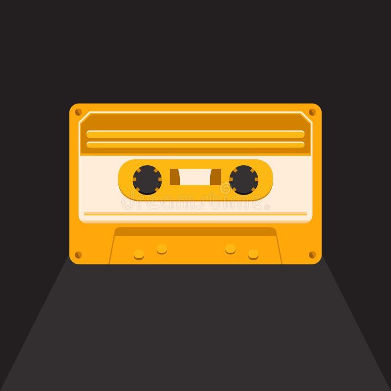 Casete audio del vintage libre illustration