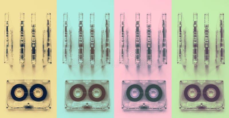 Casetes audios para el registrador fotografía de archivo libre de regalías