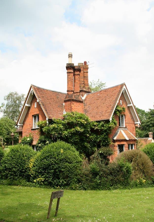 Casetta rurale inglese immagini stock