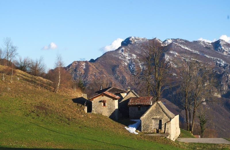 Casette della montagna immagini stock