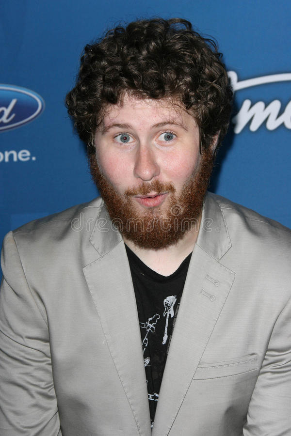 Casey Abrams. At the American Idol Season 10 Top 13 Finalists Party, The Grove, Los Angeles, CA. 03-03-11 royalty free stock image