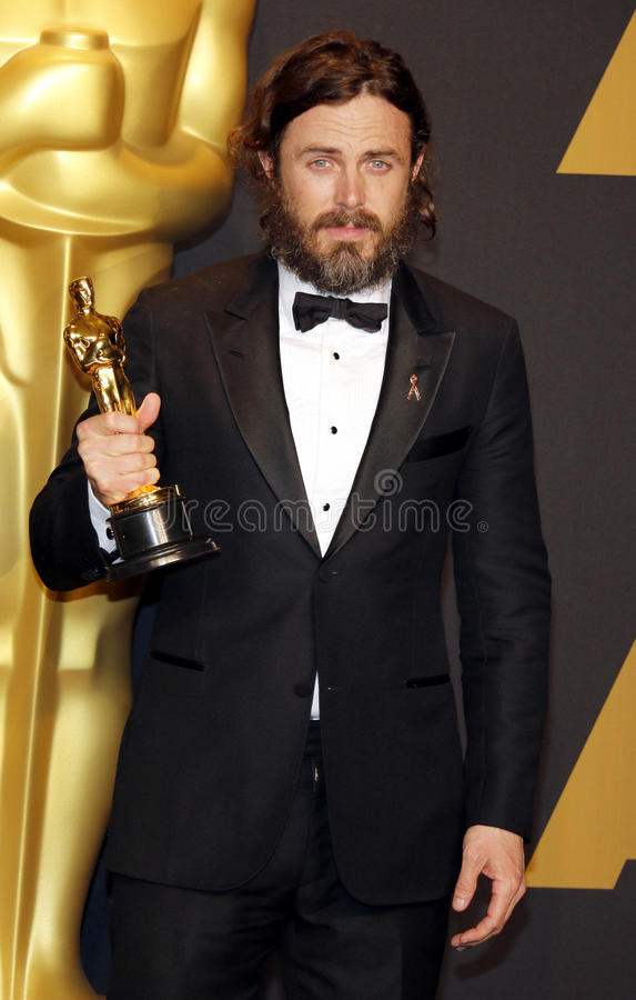 Download Casey Affleck editorial photo. Image of center, awards - 87493621