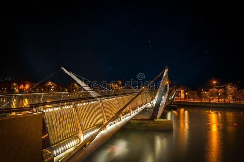 ` Casey Bridge del ¡ n O di Seà a Dublino fotografie stock