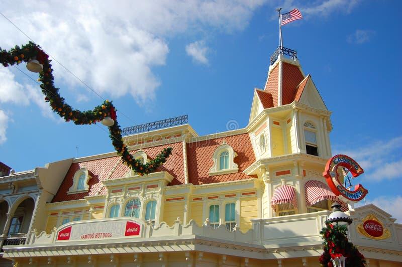 Casey's Corner Restaurant in Magic Kingdom, Disney. Orlando Resort, Florida, USA stock image