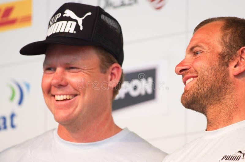 Casey Smith (USA), bowman, Puma Powered by Berg stock photo
