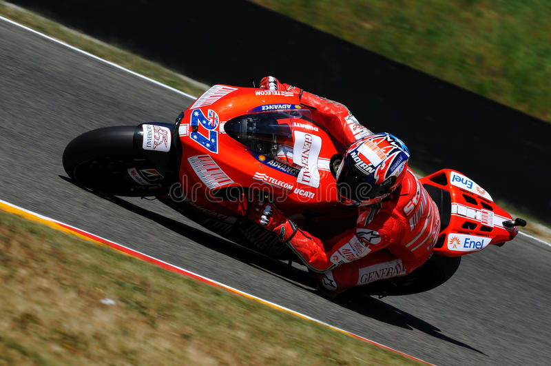 Download Casey Stoner DUCATI MOTOGP 2009 Editorial Photo