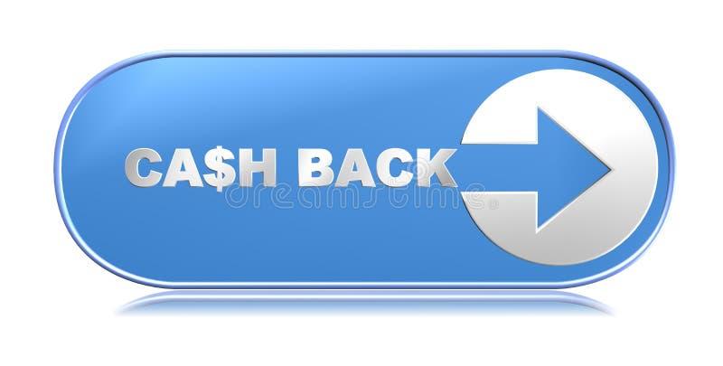Cash back royalty free illustration
