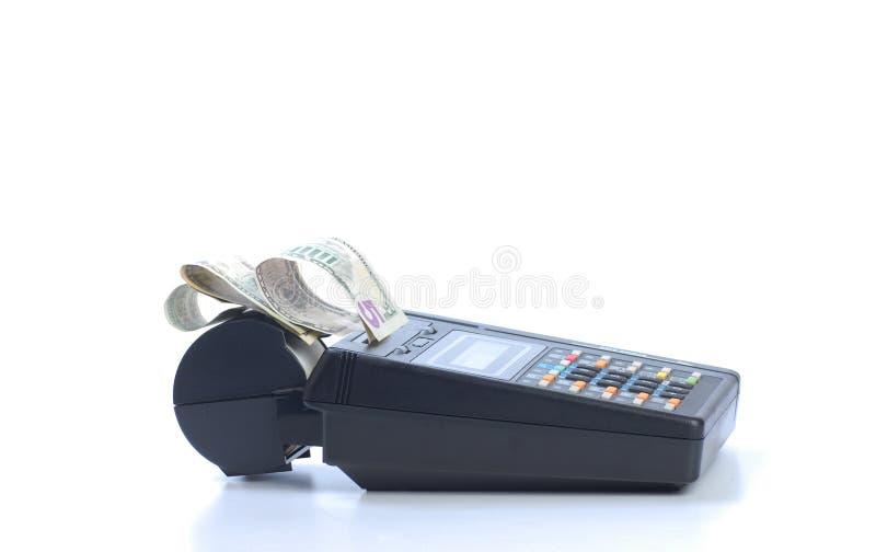 Download Cash On Credit Card Machine Stock Image - Image: 16156419